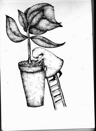 儿童黑白画图片_ 黑白画有创意简单