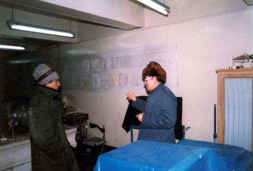 马祖光回国后在地下室 原大仓库 建起的新的光电子实验室