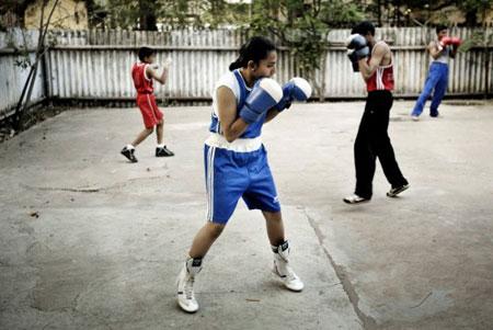 拳王阿里是班纳杰最崇拜的拳击明星