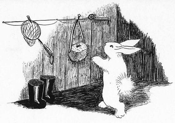素描兔子图片步骤图解法