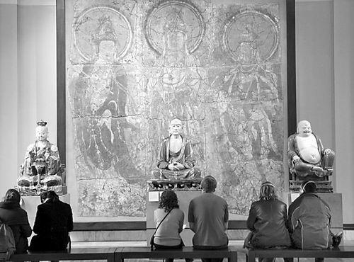组图:大英博物馆珍藏的中国文物 - 明藏菩萨 - 上塔山房de博客