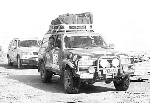 罗布泊沙漠汽车越野赛十月发车