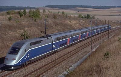 法国高速列车.图片
