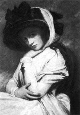 画里有许多名作,画的都是某某夫人像,这些或高贵或富有、或为美艳少妇或为半老徐娘的夫人,是玫瑰中的玫瑰,对画家而言,她们多数也都具有Egeria的身份。 尽管有人十分藐视布歇(1703-1770),说他矫揉造作,而由他和有着巴黎第一才女之称的蓬巴杜夫人一起掀起的风靡欧洲的洛可可之风,也一再受到狄德罗的指责,认为那无疑于艺术圣坛上的盛装的幽灵,然而,不可否认的是,这个盛装的幽灵,对于法国路易十四时期过度严格的宫廷礼教及其对艺术和人性的束缚,都是一次有力的冲击和挑战。蓬巴杜夫人因此也被伏尔