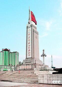 八一南昌起义纪念塔资料照片-南昌赋图片