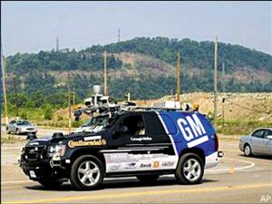 汽车可以无人驾驶,开到目的地后还可以自行泊车,这并非科幻小高清图片