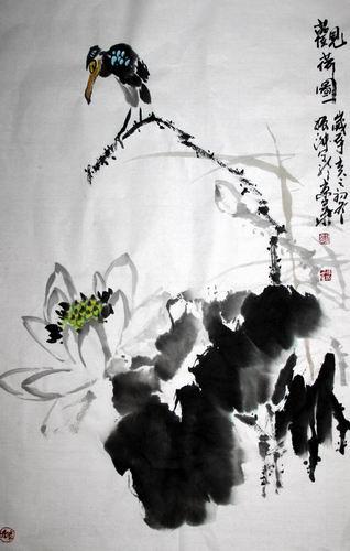 当代花鸟画著名女画家李振淑新画集