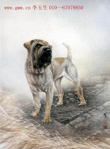 当代中国著名的动物画家-刘继彪