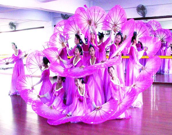 朝鲜族舞蹈王来汇摄