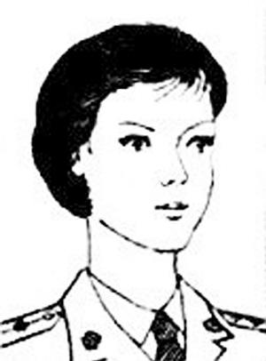 女兵发型分为 高清图片