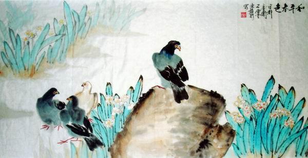 花鸟画家 陈振新