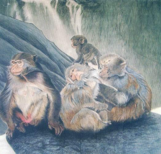 画动物的油画画家