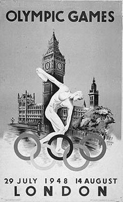 奥运会海报成顶级收藏品
