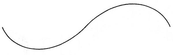 曲线图案简笔画
