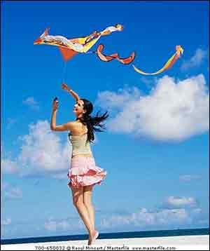 春天 放风筝去吧图片