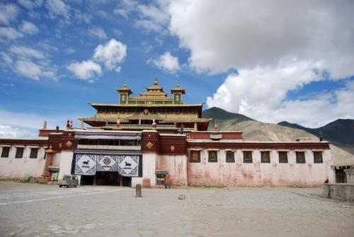 中国西藏4a级景区山南地区桑耶寺