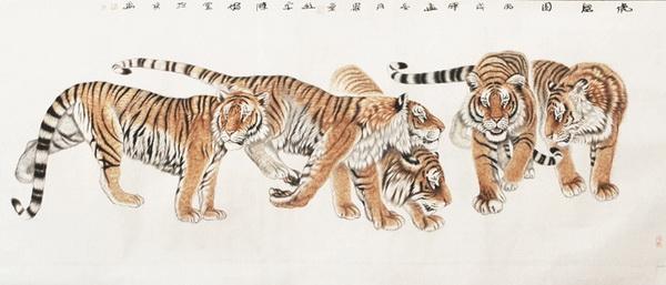 工笔狮子的画法步骤