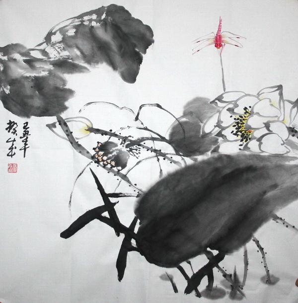 张揆成作品 张揆成 花鸟画家