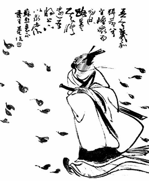 【原创】七绝:屈原 - 北风 - 北风入青春,冰雪铸人生,荒原出壮志!