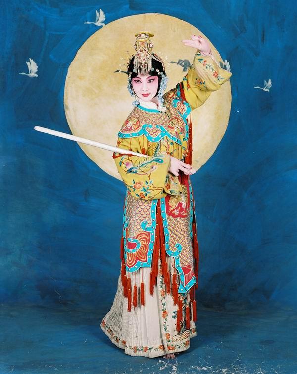 著名画家李白雪戏曲人物绘画作品展