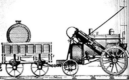 铁轨的发明与火车的诞生