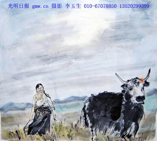 柳谦国画家作品欣赏图片