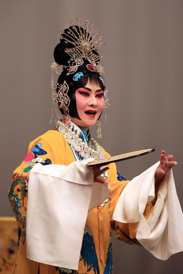 香.李白雪戏曲人物绘画作品展暨京剧演唱会