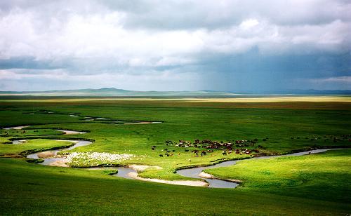一位蒙古族摄影家记录的西部大开发