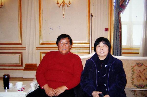 李振淑当代花鸟画著名女画家社会活动剪影