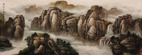 中国书画报-杜中良著名山水画家