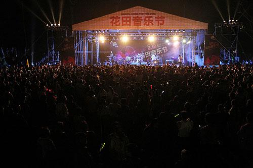 首届花田音乐节盛放长沟