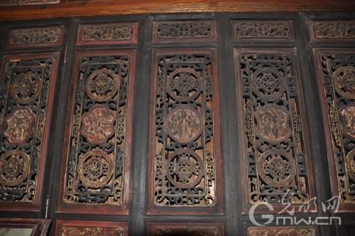 古代房屋门贴图素材