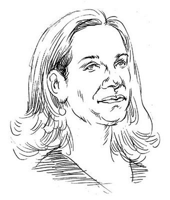 母亲铅笔手绘人物图片