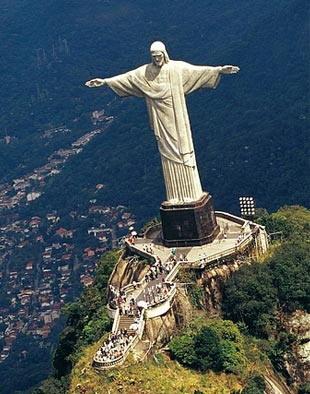 2.巴西救世主耶稣雕像