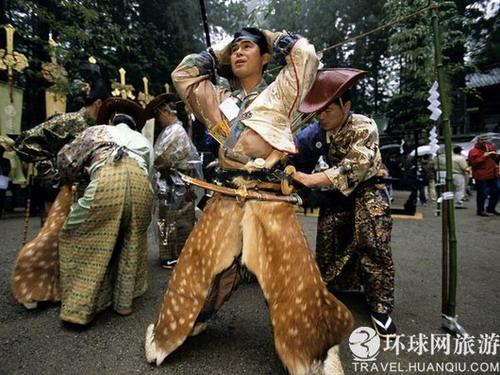 走进日本武士的真实生活图片