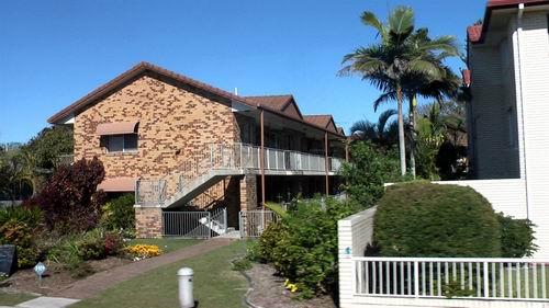 澳洲黄金海岸――美丽的海边房子