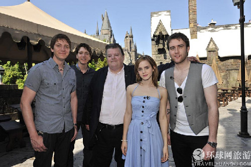 哈利波特主题公园 欢迎来到魔法学校